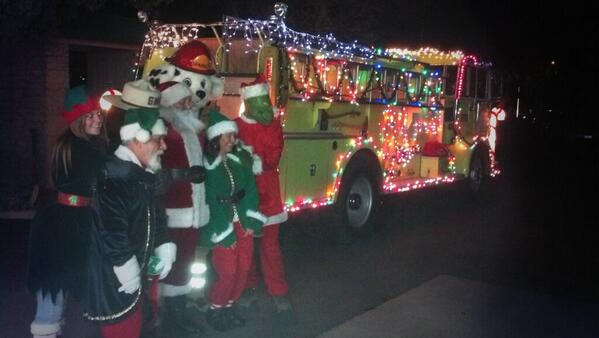 Shandon Holiday Parade
