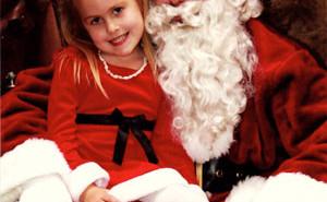 Santa in Templeton