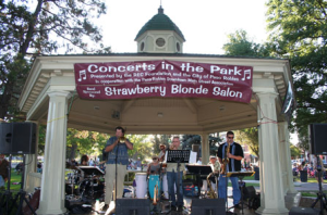Concerts in the park 2014
