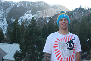 Residents of Paso will be cheering on local snowboard cross Olympian Trevor Jacob, pictured outside in Mammoth, as he takes part in the U.S. Snowboard Cross event, scheduled for Monday, Feb. 17 at 11 a.m. Sochi time.