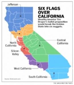 split California into six states