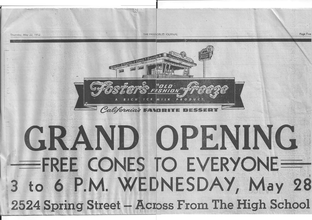 Fosters-Grandopening