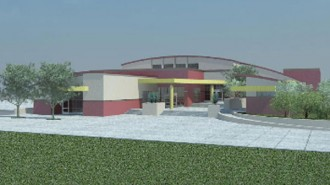 new gym at Paso Robles High School