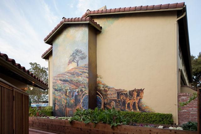 Paso Robles Inn Mural