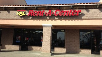 The new Rent-A-Center on Niblick Road.