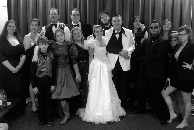 "The Paso Robles Youth Arts Foundation presents ""The Unforgettable Wedding,"" an interactive dinner theater"
