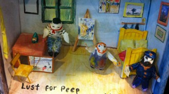peeps diorama
