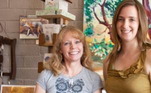 Tisha Smith, Lauren Birkhahn, art Atascadero