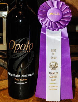 Opolo's Mountain Zinfandel wins best of show at Alameda