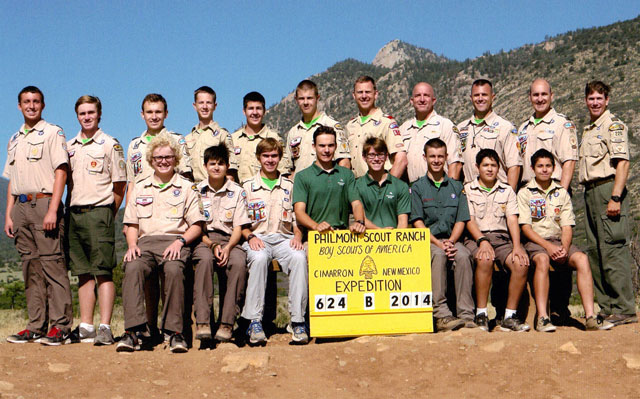 Scouts and Leaders from Troop 60