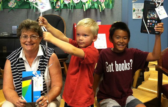 library summer reading program winners