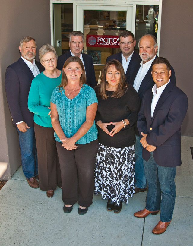 Pacifica Commercial Realty team