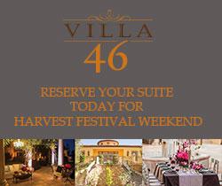 Villa 46, harvest festival, Paso Robles
