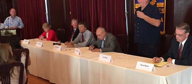 City Council Forum at Rotary Club