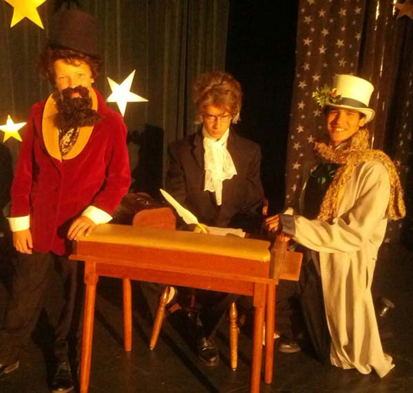 Youth Plan Performance Of A Christmas Carol By Charles