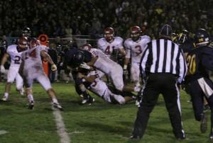 Bearcats defense, PRHS Bearcats football, Arroyo Grande