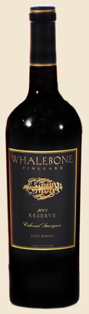 Whalebone Vineyards 2010 Cabernet Sauvignon.