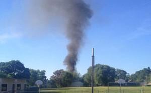 fire in Paso Robles