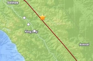 small earthquake
