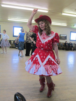 Kathy Racine square dance caller