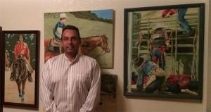 Brian Western Art show