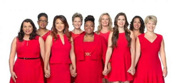 The annual Go Red For Women campaign raises awareness that heart disease is the number one killer of women, and encourages them to take preventive measures to reduce their risk. Courtesy photo.
