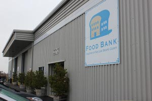 The food bank's Paso Robles location.