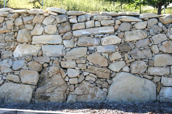 Calcareous shale wall.