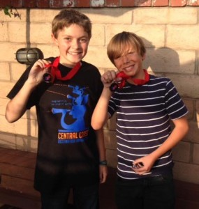 The Middle School Team, Team Phoenix:  Sam Gomez and Hobie Smith