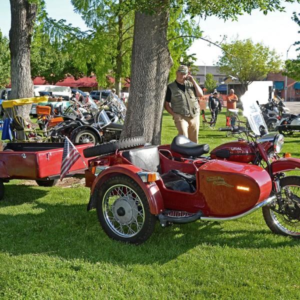 Vintage Sidecar Show