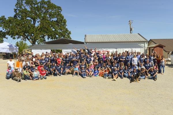 Last year's Warriors Helping Warriors Event at Tackitt Family Vineyards. Photo by Robert Binder.