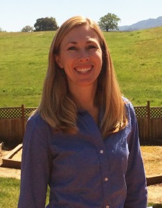 Kristin Muhly, the new national brand manager for Ancient Peaks Winery.