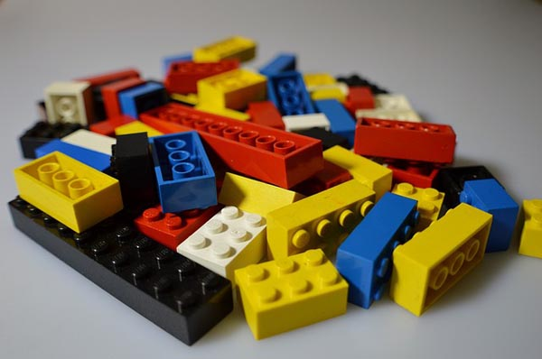 Come play with Legos at the library May 13