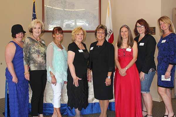 Atascadero Women in Business Committee members.