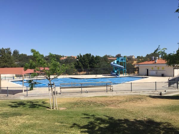 Centennial pool.