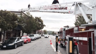 fire truck training
