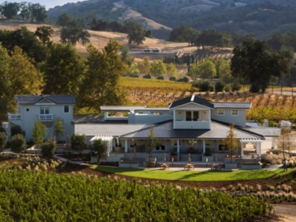 Justin Winery's tasting room in Paso Robles.