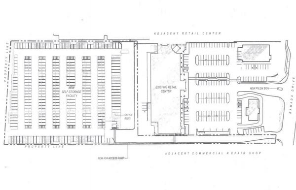 The layout of the project.