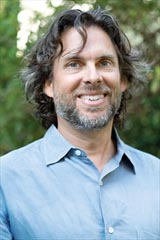 Author Michael Chabon.