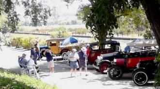 Rios-Caledonia Adobe, Model A cars, Model T cars, San Miguel