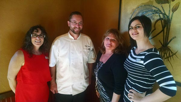 From left to right is: Taffy Gonzalez, Ryan Swarthout, Carla Ruano, and Chelsea DeBoer. Courtesy photo.