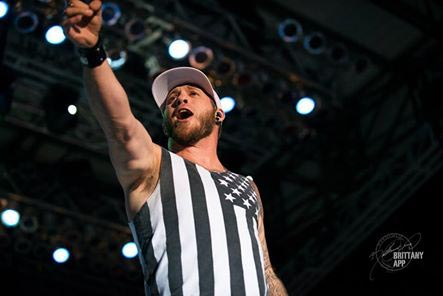 Crowd goes wild for brantley gilbert at fair paso robles daily news photo by brittany app m4hsunfo