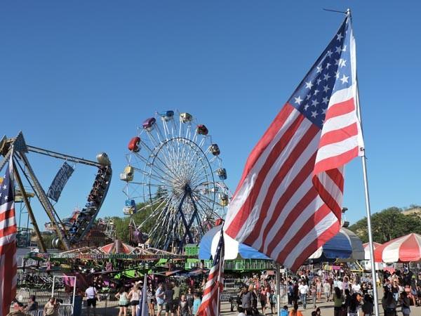 carnival shot mid state fair