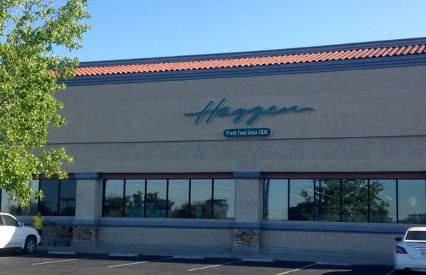 The Haggen's grocery store on Creston Road in Paso Robles.