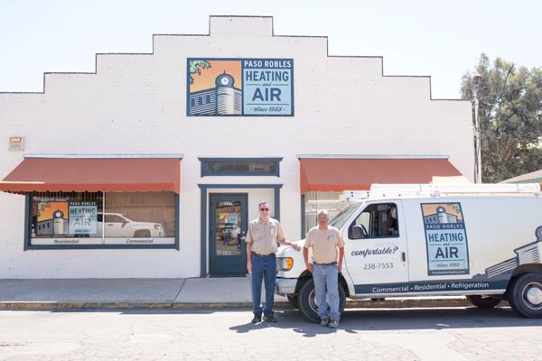 Paso Robles Heating and Air is a local, family-run company.