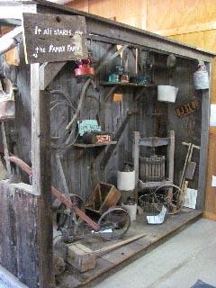 Family farm pioneer museum