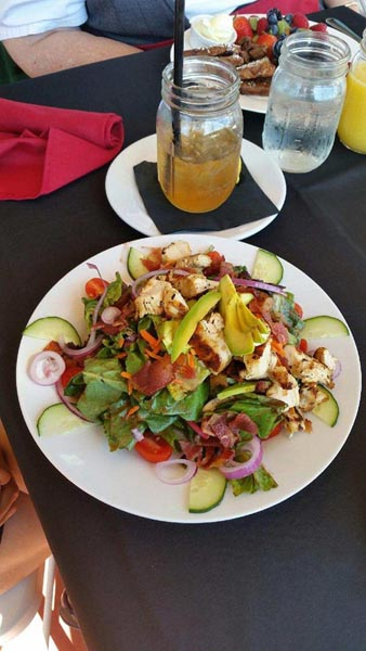 First class cafe salad