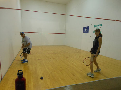Where to play racquetball in North San Luis Obispo County, CA