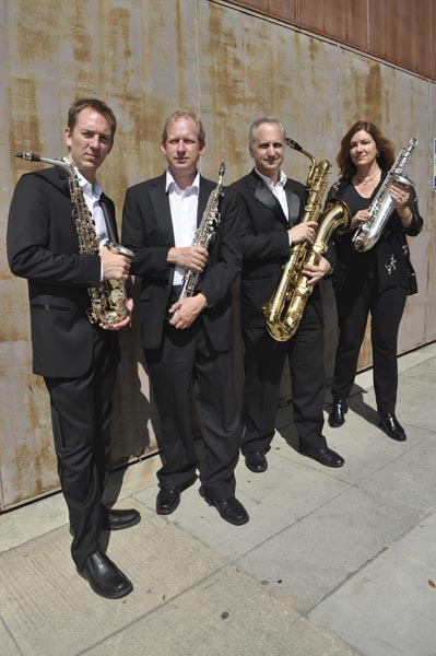 2015 City of Angels Saxophone Quartet.2