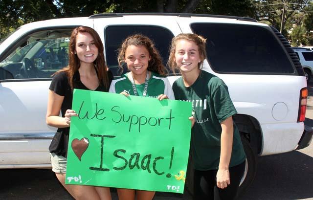 Isaac Lindsey, THS football, Eagles, Penny Fuentes